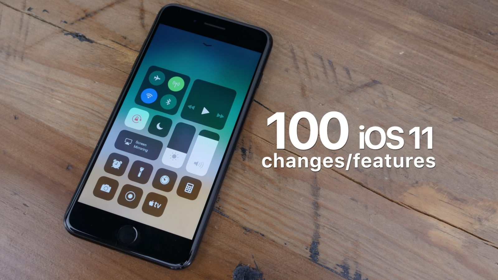 ios 11 changes