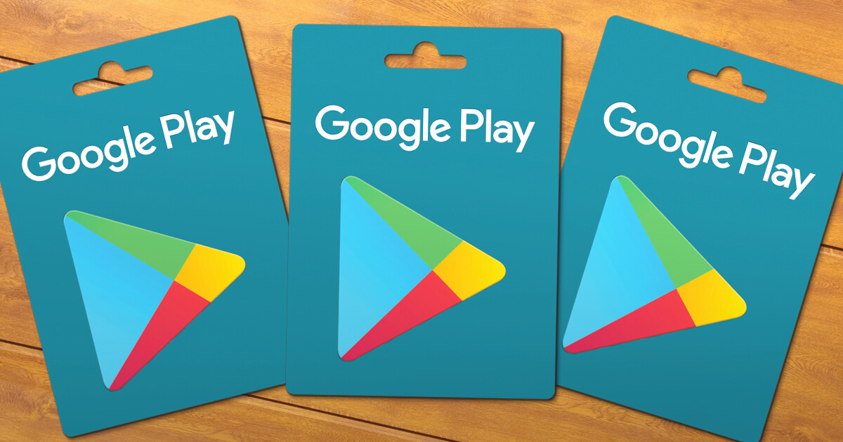 Voucher Google Play Store