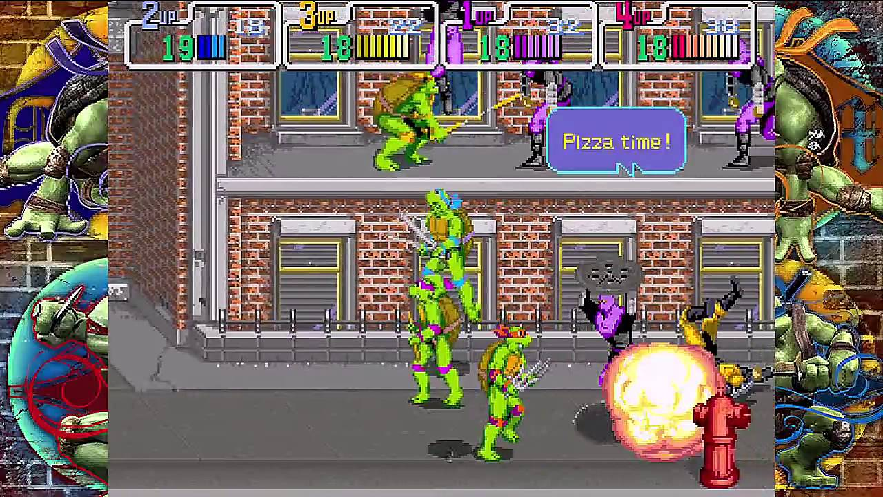 Game Arcade -Teenage Mutant Ninja Turtles (1989)